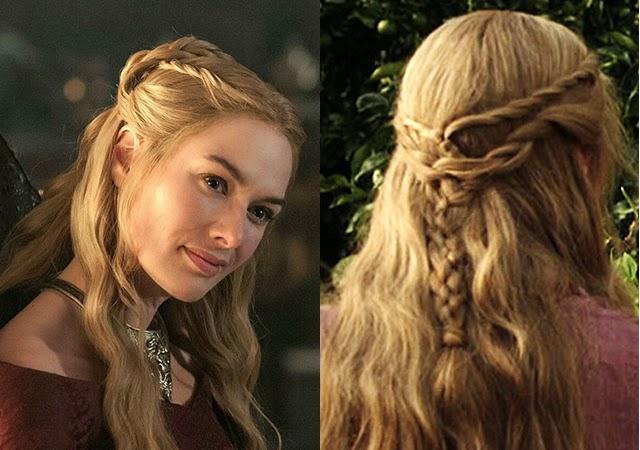Tranças de Cersei Lannister - Elis Cecilia Blog