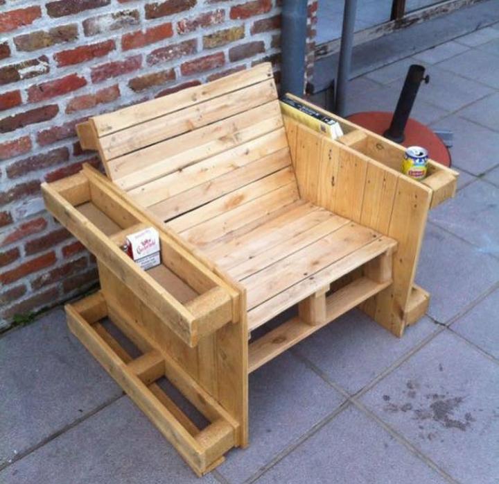 Cadeira de Palete