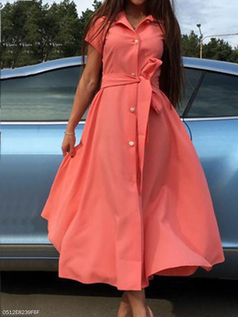 Vestido Vintage Coral - Elis Cecilia Blog