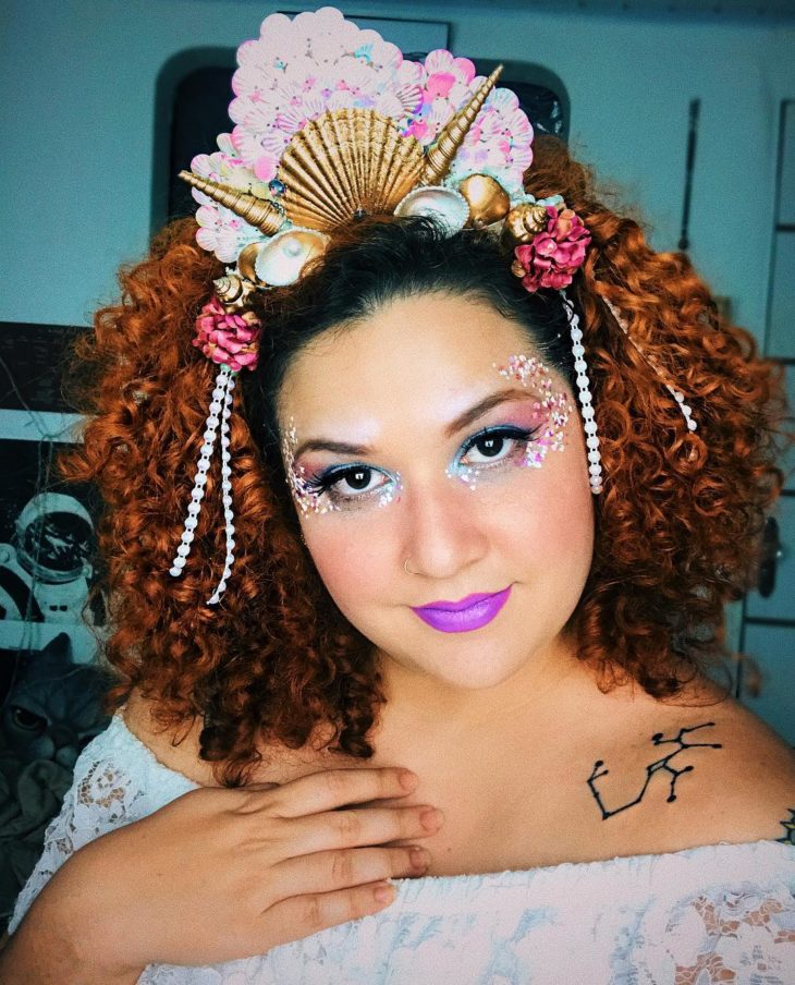 Tiara de Conchas para o Carnaval - Elis Cecilia Blog