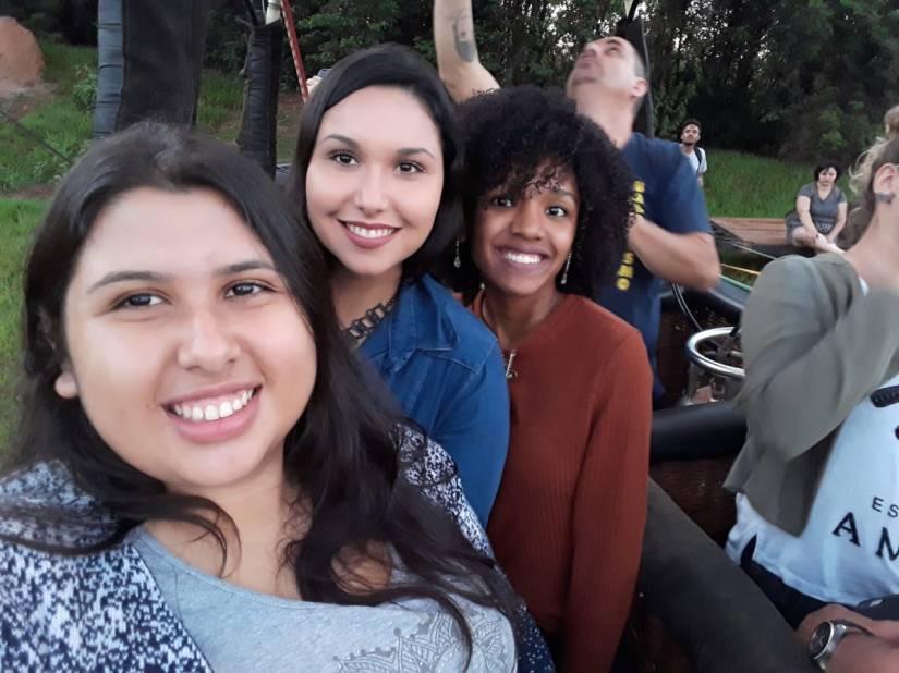 Passeio de Balão em Boituva com Cristiane Santos Elis Cecilia e Denise Rudi - Elis Cecilia Blog
