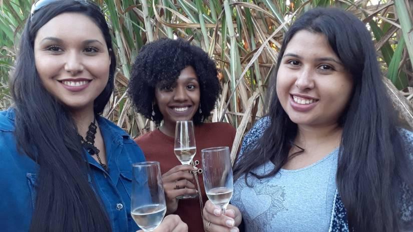 Denise Rudi, Elis Cecilia e Criistiane Santos em Passeio de Balão - Elis Cecilia Blog