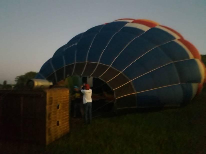 Montagem do Balão para vôo - Elis Cecilia Blog