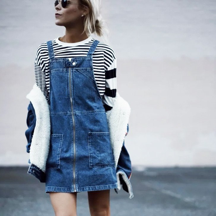 Salopete Jeans - Elis Cecilia Blog
