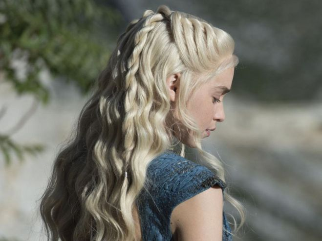 Penteado da Rainha Daenerys Targaryen - Elis Ceclia Blog