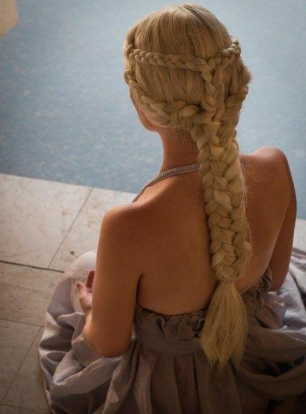 Trança Linda de Daenerys Targaryen  - Elis Cecilia Blog