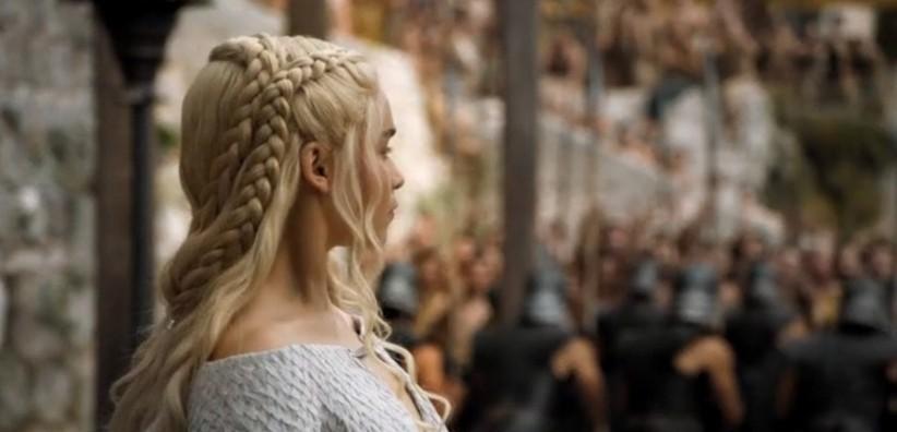 Daenerys Targaryen e as tranças de dar Inveja - Elis Cecilia Blog