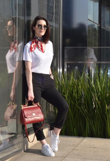 Look casual com Calça de Alfaitaria - Elis Cecilia blog