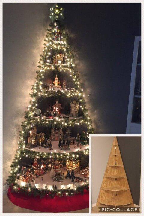 80 Modelos de Árvore de Natal Artesanal +Passo a Passos