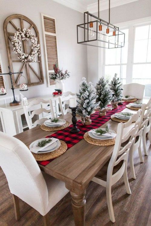 Decoração de Mesa de Natal » Ideias Lindas para 2019!