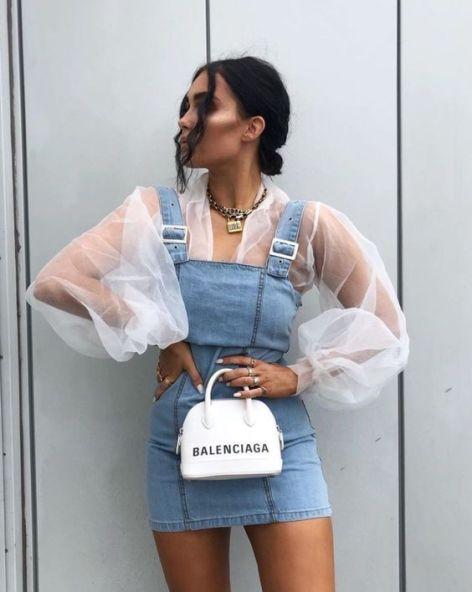 Organza com Jeans (tendência verão 2020) - Elis Cecilia Blog