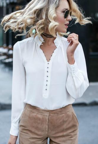 Tendência para 2020 Era Vitoriana (camisa branca) - Elis Cecilia Blog