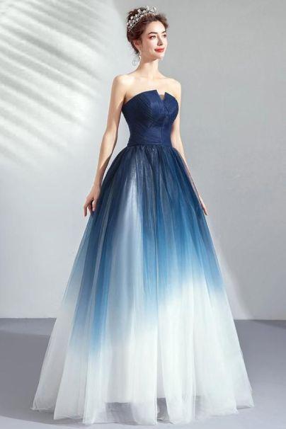 Vestido com Ombré - Tendência 2020