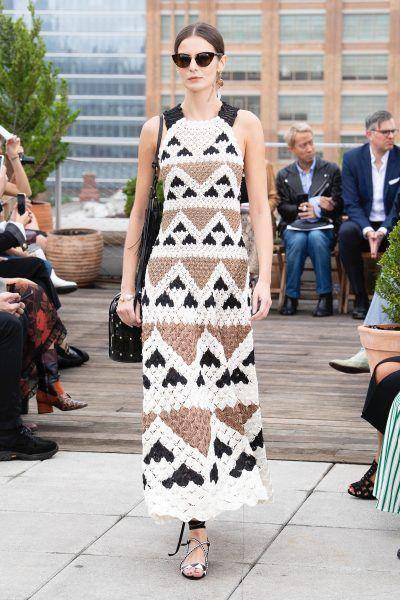 Vestido de Crochê Handmade Tendência 2020 - Elis Cecilia Blog